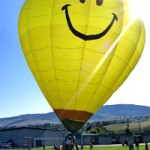 When life kicks you in the teeth, release a hot air balloon!